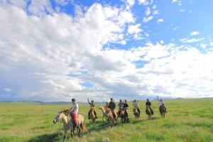 モンゴル乗馬1